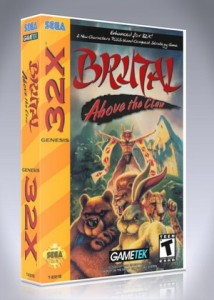 Sega 32X - Brutal: Above the Claw