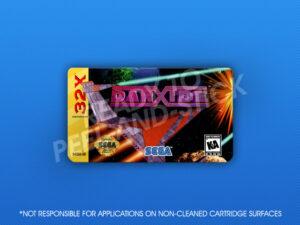 Sega 32X - Darxide Label