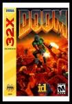 Sega 32X - Doom Poster