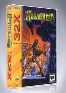 Sega 32X - Metal Head
