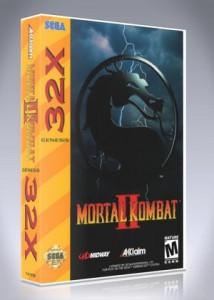 Sega 32X - Mortal Kombat II