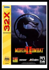 Sega 32X - Mortal Kombat II Poster