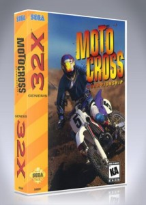 Sega 32X - Motocross Championship