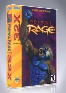 Sega 32X - Primal Rage