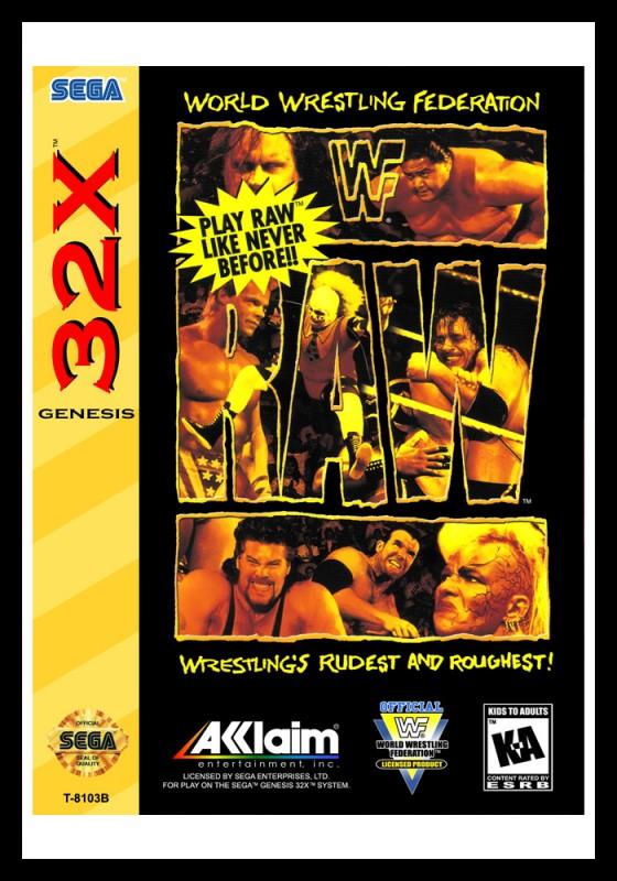 Sega 32X - WWF RAW