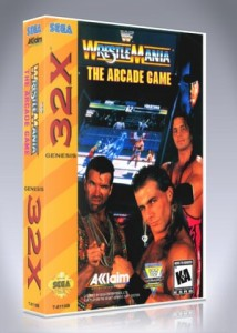 Sega 32X - WWF Wrestlemania: The Arcade Game