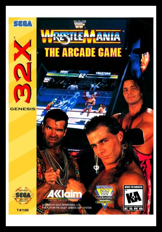 Sega 32X - WWF Wrestlemania