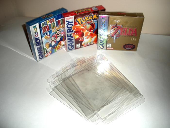 Gameboy Gameboy Color Gameboy Advance Box Protectors