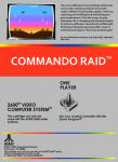 Atari 2600 - Commando Raid (back)