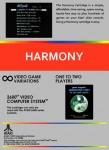 Atari 2600 - Harmony (back)