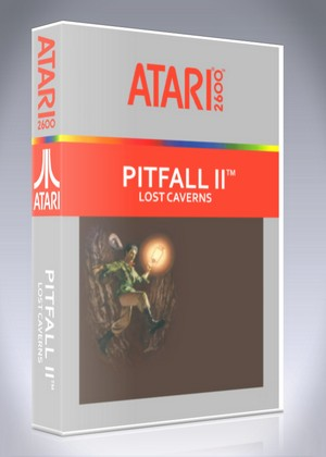 Atari 2600 - Pitfall II: Lost Caverns
