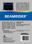 Atari 5200 - Beamrider (back)