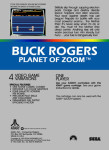 Atari 5200 - Buck Rogers Planet of Zoom (back)