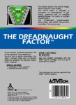 Atari 5200 - Dreadnaught Factor (back)