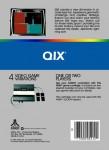 Atari 5200 - Qix (back)