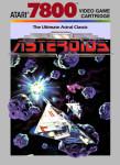 Atari 7800 - Asteroids (front)