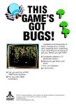 Atari 7800 - Centipede (back)