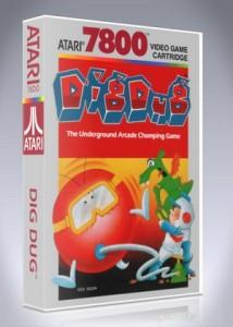 Atari 7800 - Dig Dug