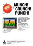Atari 7800 - Dig Dug (back)