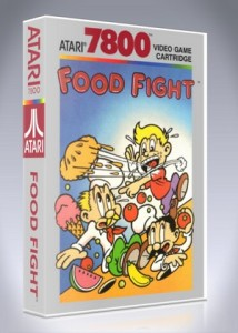 Atari 7800 - Food Fight