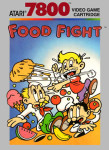 Atari 7800 - Food Fight (front)