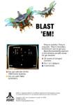 Atari 7800 - Galaga (back)