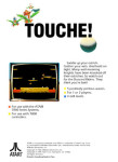 Atari 7800 - Joust (back)