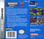 GBA - Advance Wars (back)