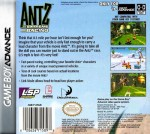 GBA - Antz Extreme Racing (back)
