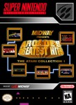 SNES - Arcade's Greatest Hits: The Atari Collection 1 (front)