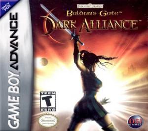 GBA - Baldurs Gate: Dark Alliance (front)
