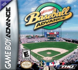 GBA - Baseball Advance (front)