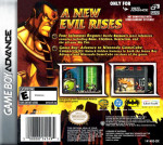 GBA - Batman: Rise of Sin Tzu (back)