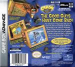 GBA - Crash Bandicoot 2: N-Tranced (back)