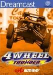 Sega Dreamcast - 4 Wheel Thunder (front)