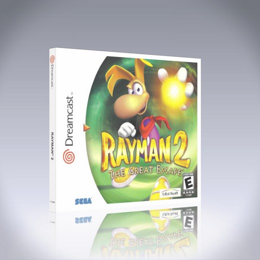 Dreamcast - Rayman 2: The Great Escape