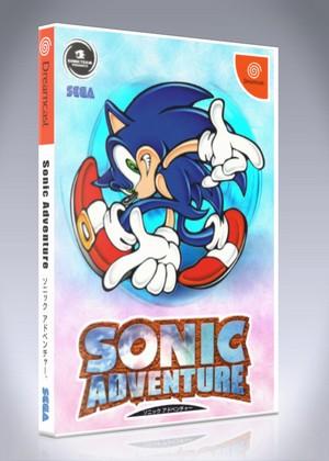 Sega Dreamcast Sonic Adventure Custom Game Case Retro Game Cases