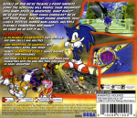 Sega Dreamcast - Sonic Adventure (back)