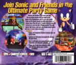 Sega Dreamcast - Sonic Shuffle (back)
