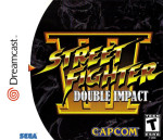 Sega Dreamcast - Street Fighter III Double Impact (front)