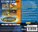 Sega Dreamcast - Tony Hawk's Pro Skater (back)
