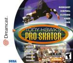 Sega Dreamcast - Tony Hawk's Pro Skater (front)