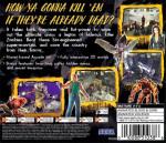Sega Dreamcast - Zombie Revenge (back)