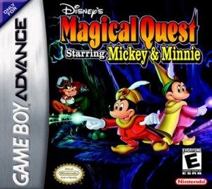 GBA - Disney's Magical Quest Starring Mickie & Minnie (front)
