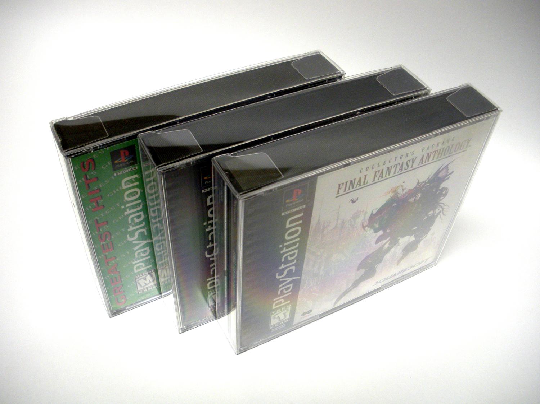 dual cd jewel case box protectors