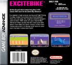 GBA - Excitebike (back)