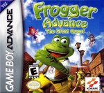 GBA - Frogger Advance: The Great Quest (front)