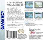 GameBoy - 4-In-1 Funpak Volume II (back)