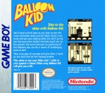 GameBoy - Balloon Kid (back)