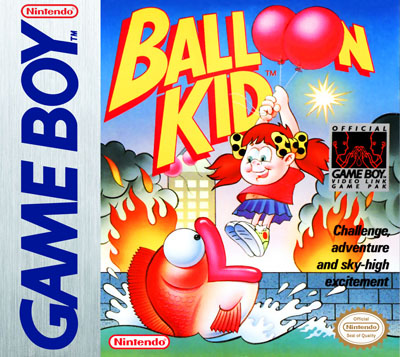 Image result for balloon kid game boy